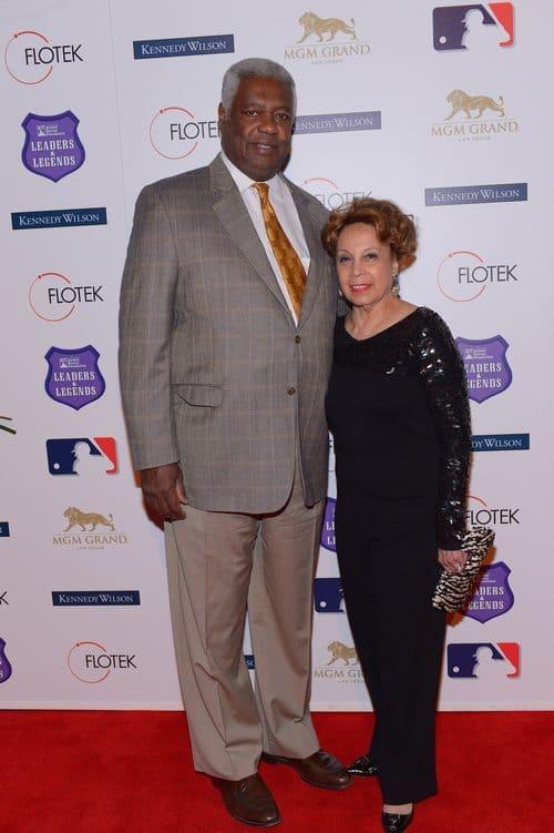 اسکار رابرتسون و همسرش